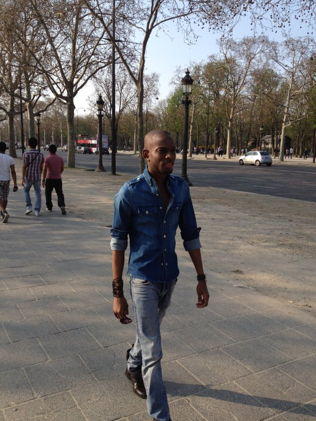 Jamaican-fashion-designer-and-stylist-Mario-Ryo-Stylin-Davis-at-Champs-Elysees-France