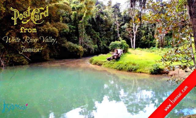 Postcard-White River-Valley-Jamaica-Tsansai
