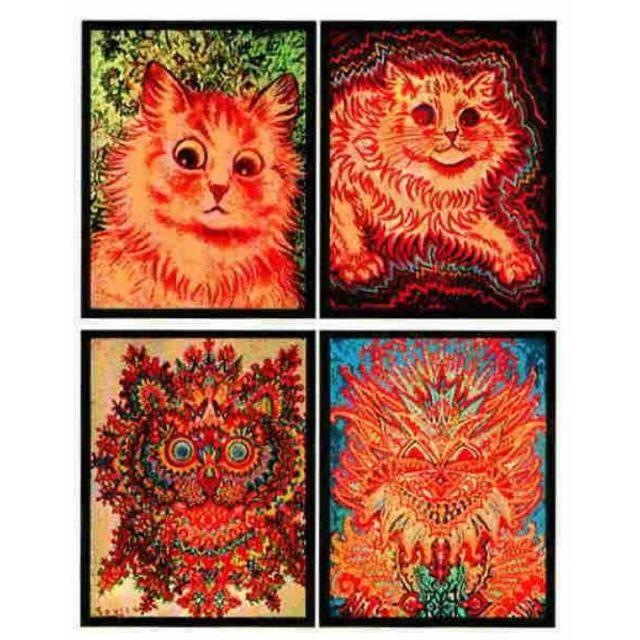 Louis-Wain-Cats-mental-illness-schizophrenia