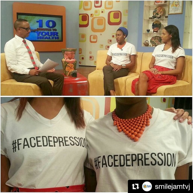 FaceDepressionJA-members-Jessica-Thompson-Tameka-A-Coley-On-TVJ-Smile-Jamaica