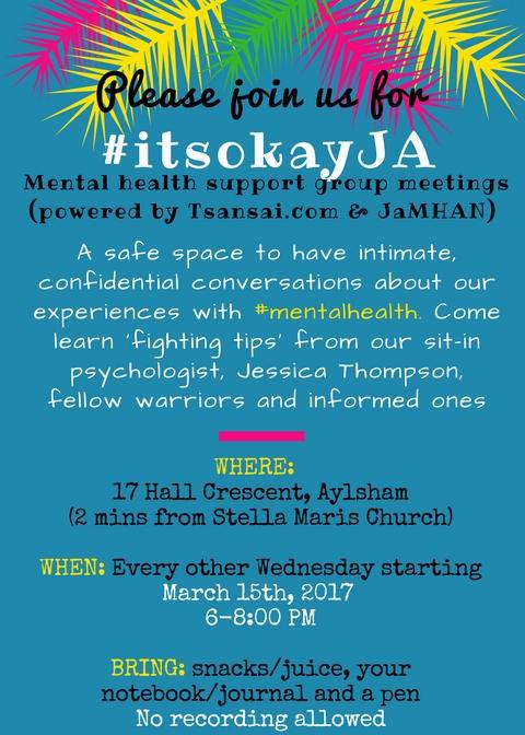 itsokayJA-2017-mental-health-support-group-Jamaica